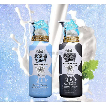 [SET PROMO] 泰国Beauty Buffet Hokkaido Milk Bath Cream + Body Lotion 北海道牛奶沐浴露+身体乳 (700ML)