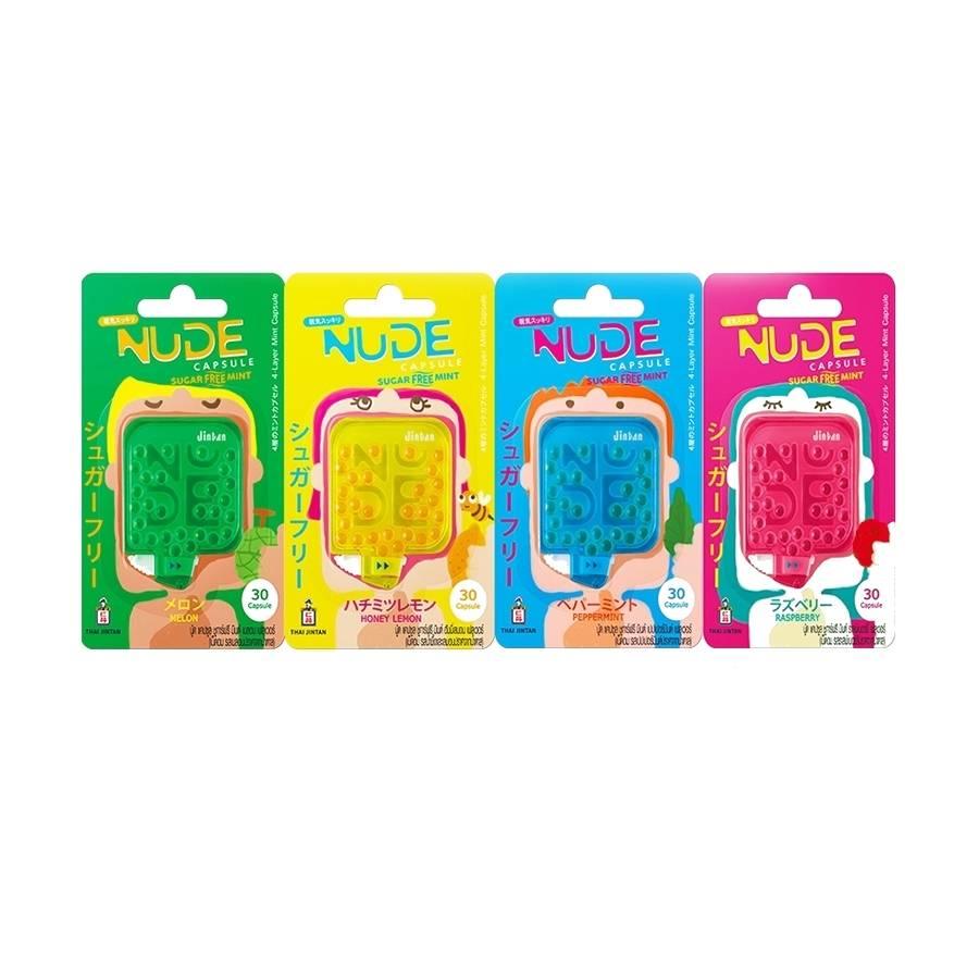 Thailand NUDE Capsule Sugar Free Mint (30 capsules