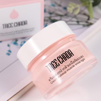 泰国 Treechada Cream Makeup Muscle Snow Light 素颜霜 50ml