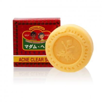 泰國Madame Heng Acne Clear Soap青少年茶樹精油草藥香皂150g