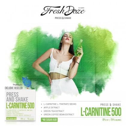 泰国网红瓶盖饮料水Fresh Doze Press & Shake