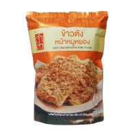 CHAOSUA Thai Jasmine Rice Cracker Pork Floss 115g