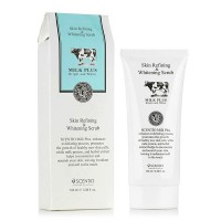 泰国Beauty Buffet Milk Plus Skin Refining Gel Scrub 牛奶美白保湿去角质凝胶 (100ML)